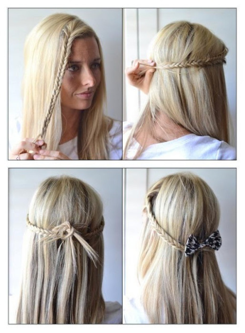 fcil peinado para hacer en tu cabello - Peinados Pelo Largo Suelto