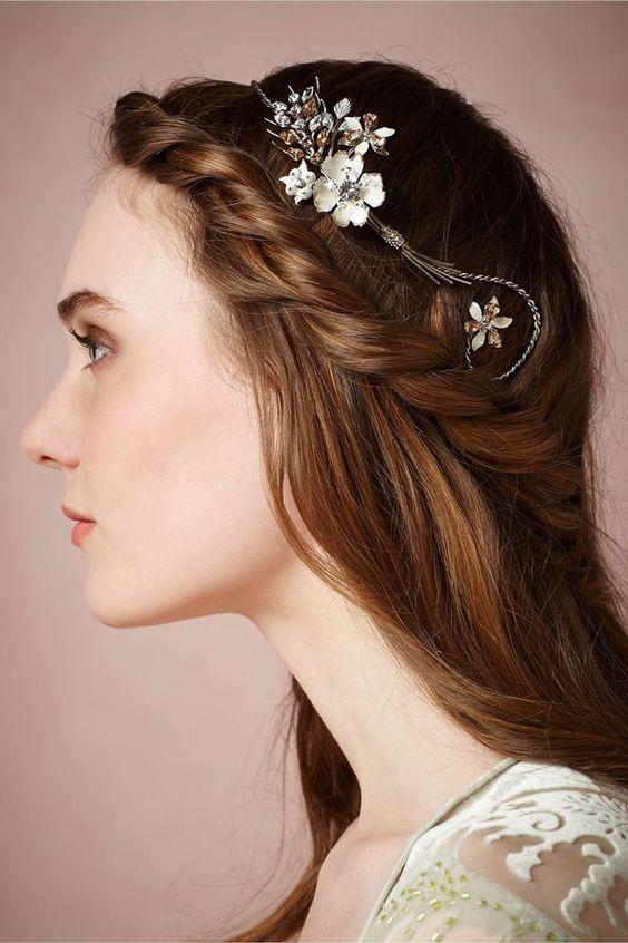 Peinados para cabello lacio largo suelto y f ciles de peinados - Peinados para hacerse una misma ...