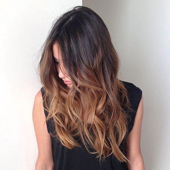 Color de pelo para piel morena 2017