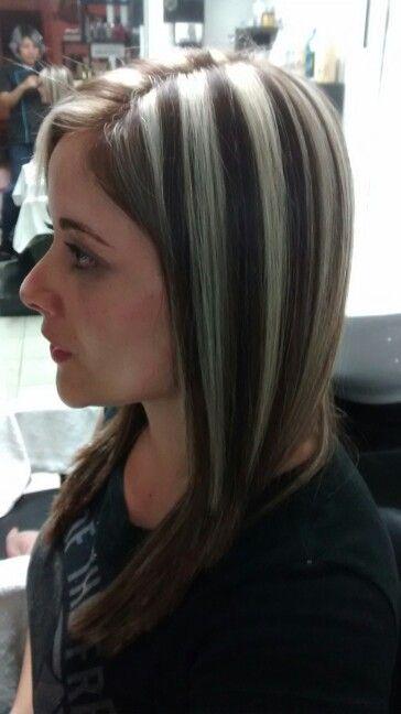 Mechones en pelo corto