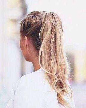 Peinados Informales Y Sencillos Para Usar En Todo Momento De Peinados - Peinados-informales-con-trenzas