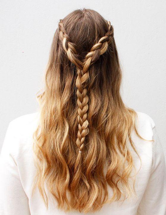 Peinados faciles de hacer para quinceaneras