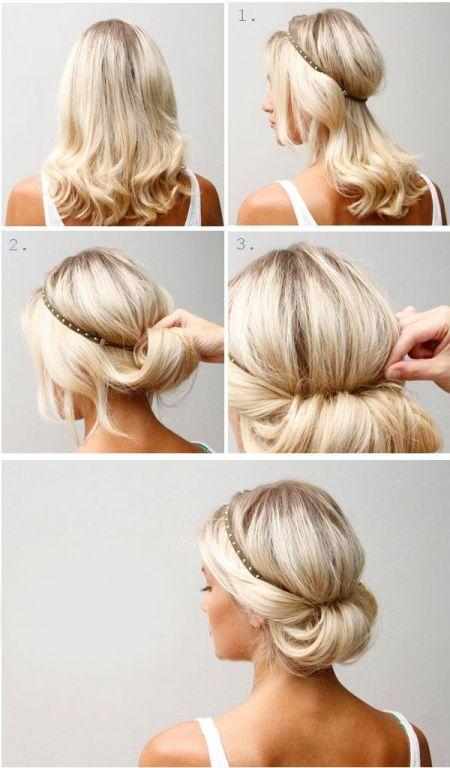Peinados Informales Y Sencillos Para Usar En Todo Momento De Peinados - Recogidos-sencillos-paso-a-paso
