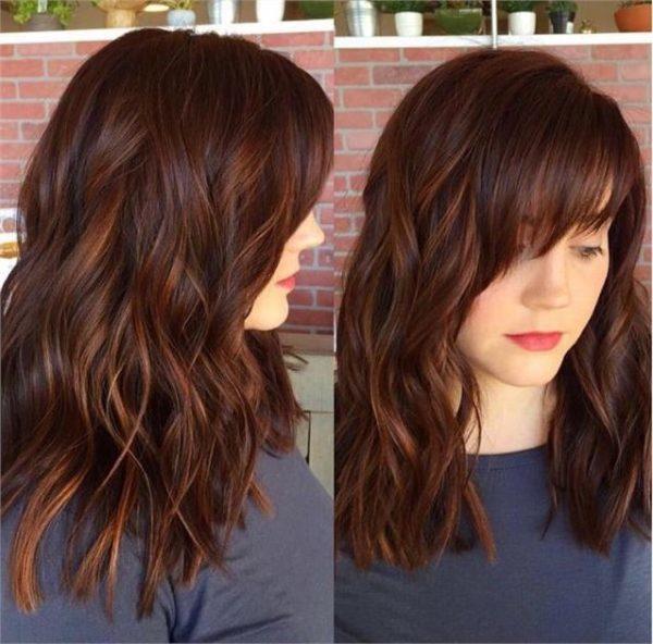 Colores para el cabello marrones