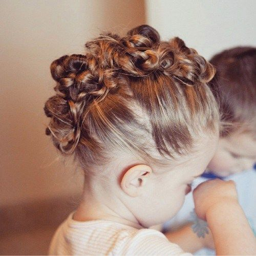 hair style for toddler girl 120 peinados para ni 241 as f 225 ciles bonitos r 225 pidos y 5631 | PeinadosCabelloCorto48