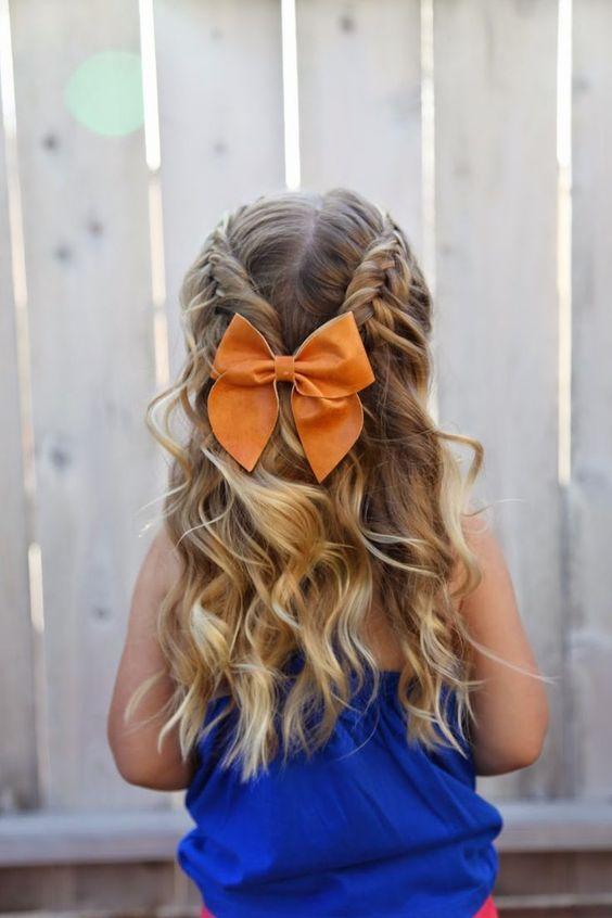 120 Peinados Para Ninas Faciles Bonitos Rapidos Y Elegantes De - Trenzas-faciles-para-nia