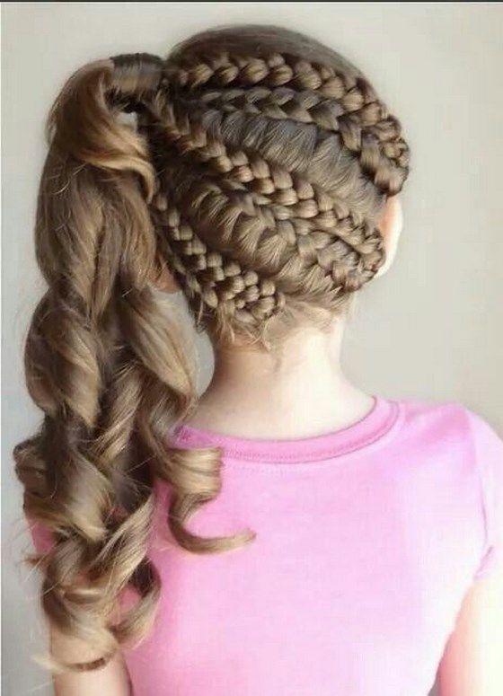 peinados para nias con trenzas fciles - Peinados Bonitos