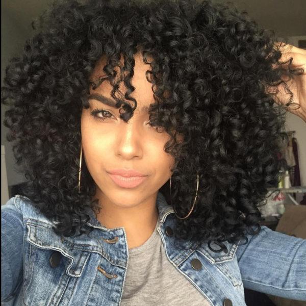 Peinados afro mujer