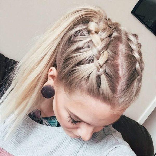 peinados recogidos sencillos para lucir elegantes - Peinados Sencillos