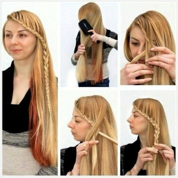 Peinados faciles para mujeres de cabello largo