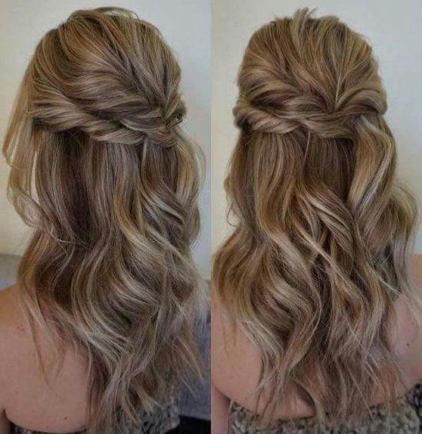 Peinados Romanticos Bonitos Y Hermosos Para Novias 2018 De Peinados