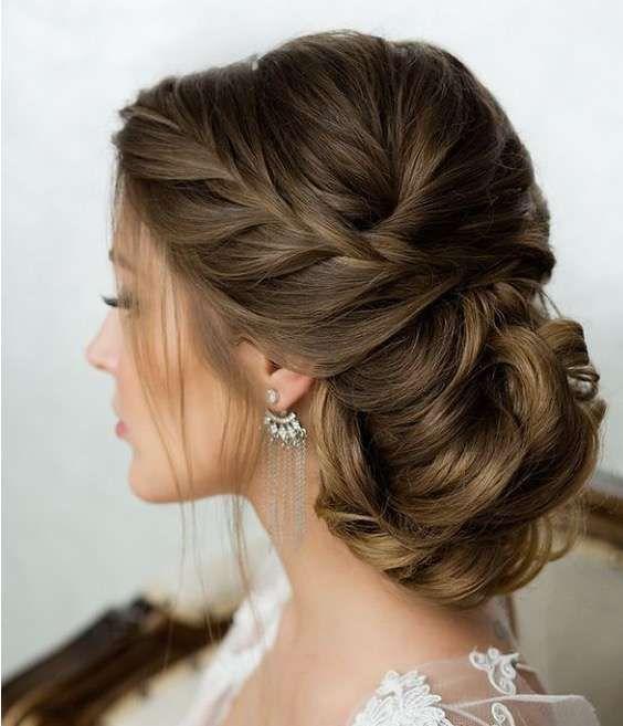 Peinados de novia f ciles para estar muy hermosa en tu - Peinados elegantes para una boda ...