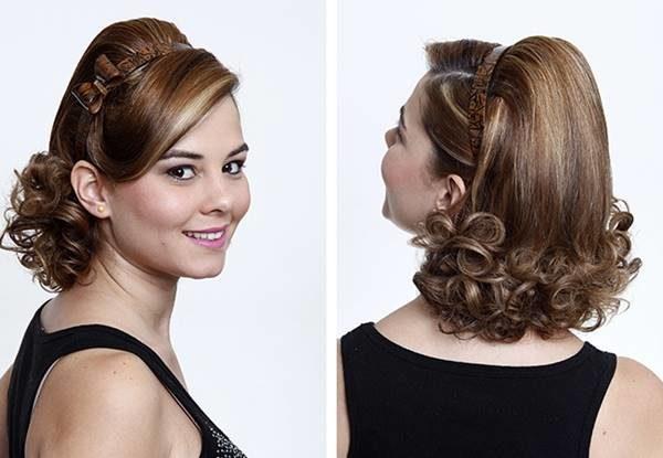 Peinados para graduacion cabello medio corto