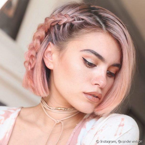 Peinado Para Cabello Corto Suelto Peinados Novias