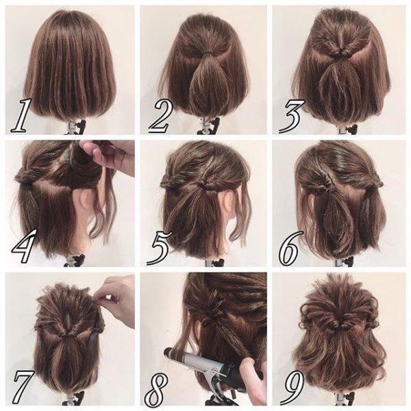 Peinados Para Cabello Corto Fáciles Rápidos Y Hermosos