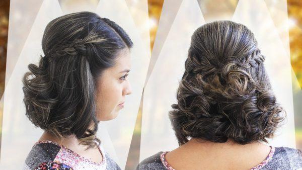 Peinados Para Cabello Corto Faciles Rapidos Y Originales De Peinados - Peinados-faciles-de-hacer-para-pelo-corto