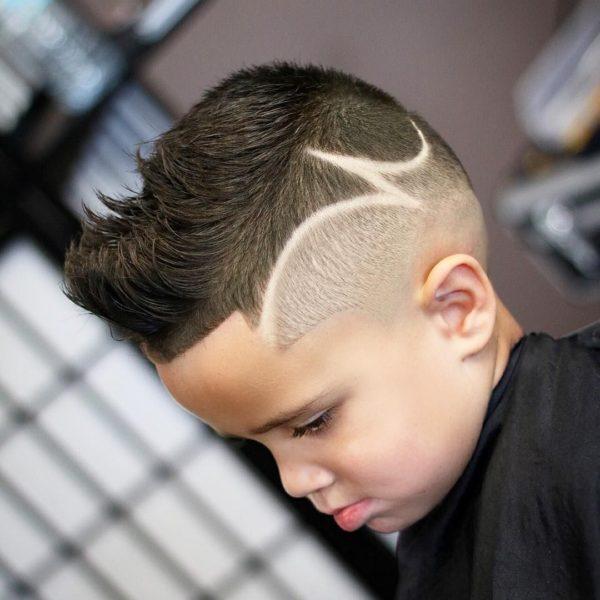 Corte de pelo para ninos con dibujos