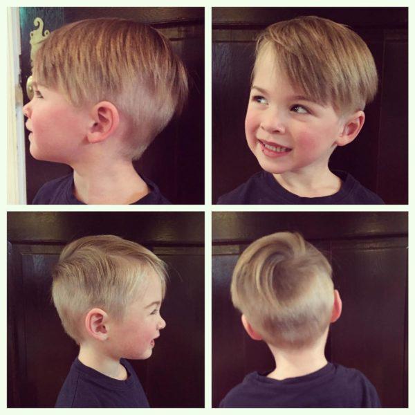 Corte de pelo para ninos lacios