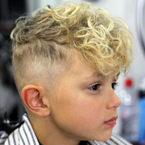 Cortes de cabello para ninos con rulos