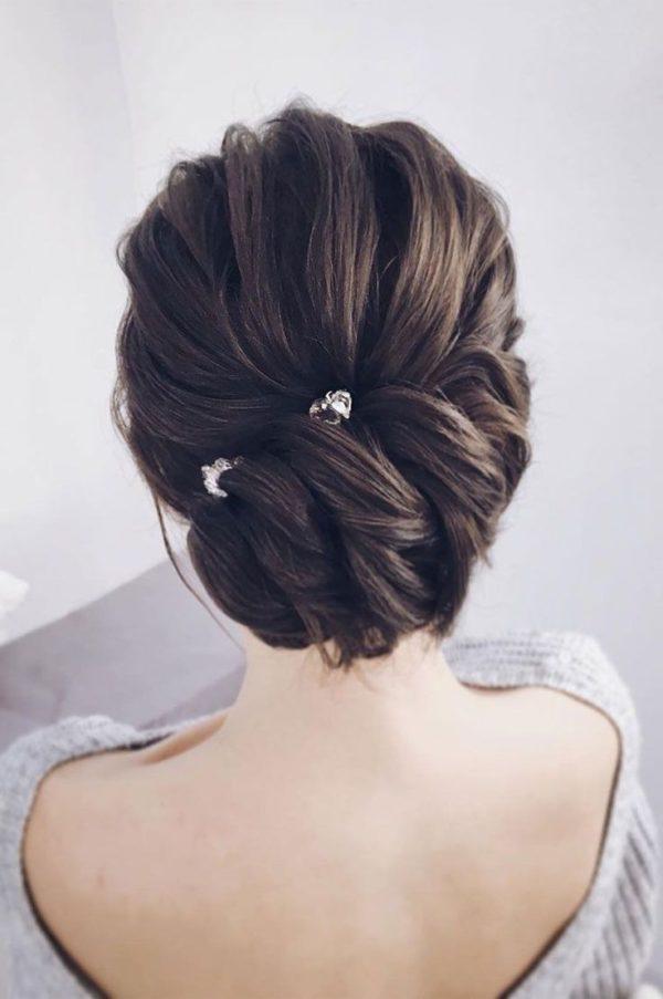 Peinados Para Novias Elegantes Sencillos Y Sofisticados De Peinados