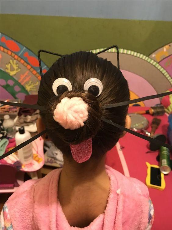 Ideas bonitas para peinados divertidos para niñas Colección De Consejos De Color De Pelo - Peinados LOCOS para Niña, INCREIBLES, Divertidos, Fotos 【2021】