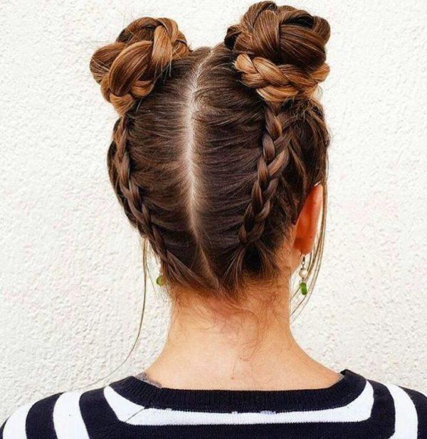 Perfecto peinados informales Imagen de cortes de pelo tutoriales - Peinados informales recogidos con las mejores ideas 2019