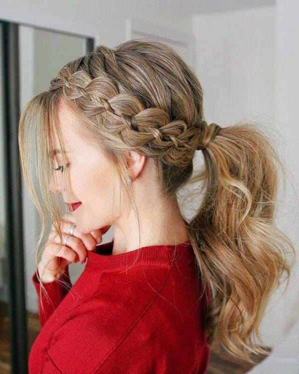Especial peinados informales Fotos de cortes de pelo tendencias - Peinados informales recogidos con las mejores ideas 2019